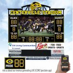 Athletic Boosters Providing Funds For New Scoreboard/Video Board At Centerville Stadium