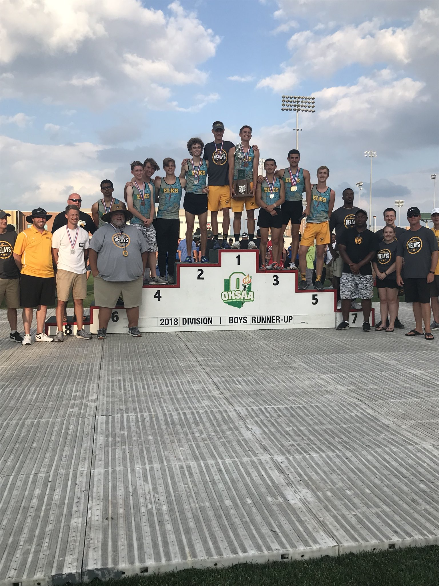 Soto Dazzles as Boys Track Finishes State Runner-Up