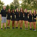 Girls Varsity Gold Golf Edged by East at Glenview