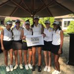 Varsity Girls Gold Golf Finishes Runner-Up at Upper Arlington Invite