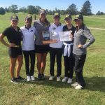 Girls Varsity Gold Golf Wins GWOC East, Advances to Conference Finals