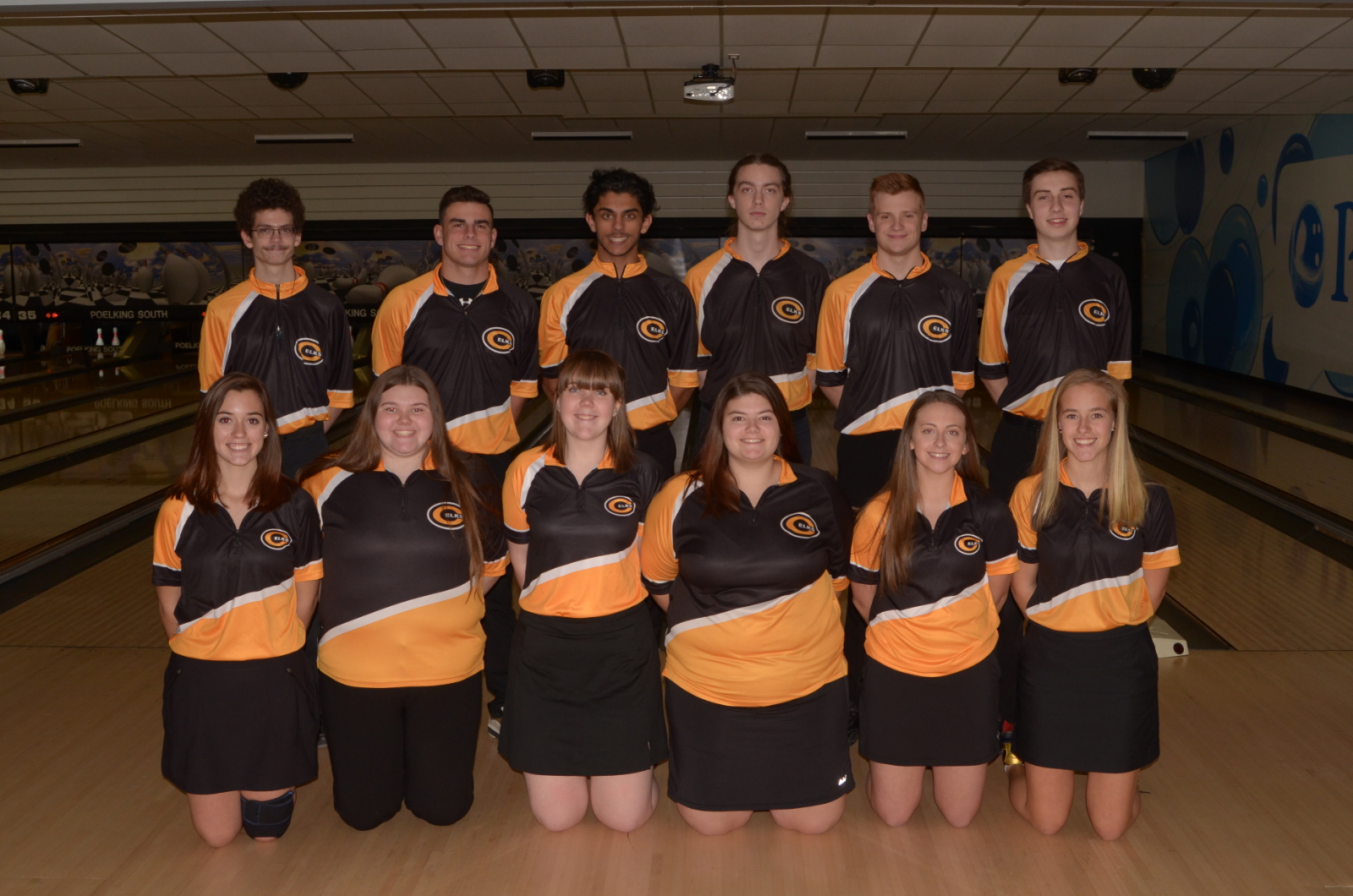Bowling Teams Sweep Warriors at Eastern Lanes