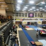Gymnastics Team Hosts Elk Invite