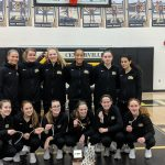 Girls Basketball Clinches GWOC East Title in Coach Priefer's 300th Win