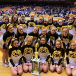 Competition Cheer Squad Finishes Fourth at State Championship
