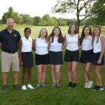 Girls Varsity Black Golf Clipped by Comets