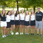 Girls Varsity Gold Golf Wins Sectional, Advances to District