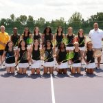 Girls Varsity Gold Tennis Edges Alter