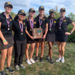 Rodgers Wins District Title as Girls Varsity Gold Golf Advances to State Tournament