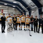 Hrin Shines as Hockey Wins on Senior Night
