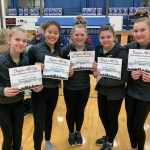 Gymnasts Finish Third at Dayton City Championships