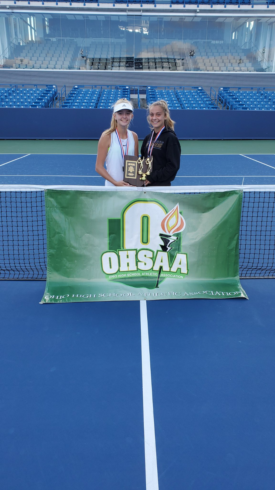 What A Ride For Owen/Hinshaw, State Runner-Up Doubles Team