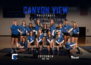 2018 – 2019 Girls Freshmen Volleyball