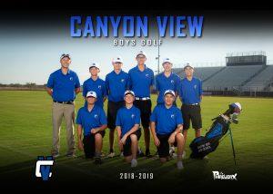 2018 – 2019 Boys Varsity Golf