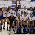Girls Varsity Volleyball falls to Gila Ridge 3 – 1