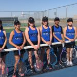 Girls Varsity Tennis 2018-2019