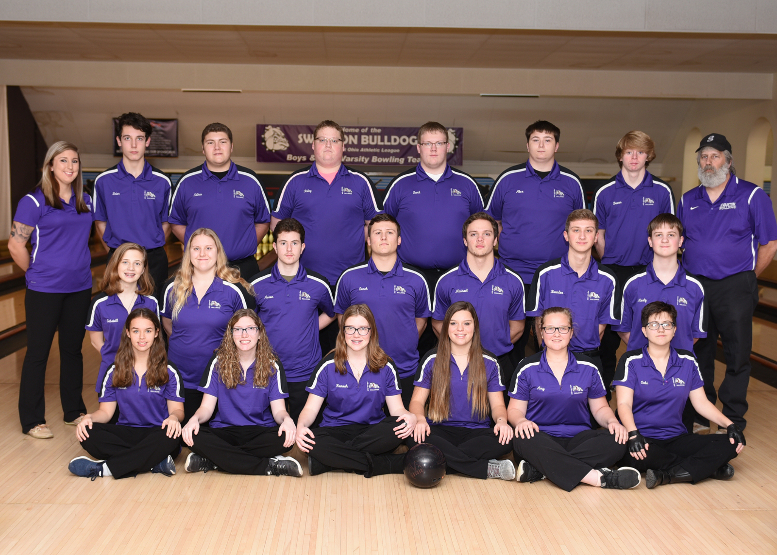 Swanton Varsity Bowling takes 4th @Sectionals