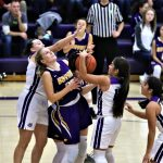 Lady Bulldogs use a smothering defense to edge Bryan 33-30.