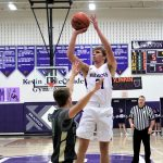 Randy Slink led Swanton in scoring in a tough 45-44 loss to the Vikings.
