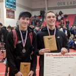 Ryan Marvin -1st place and Zach Schaller – 2nd place finish at Thunderbird Invitational
