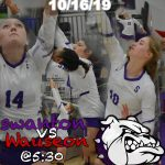 Volleyball Sectional Game @ Home 10/16/19