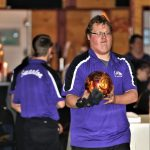 Down by 110 pins after two games, the Bowling Bulldog Boys roared back to beat the Evergreen Vikings 1876 to 1848.  Riley Blankenship rolled a 140+164=304 to lead the team.