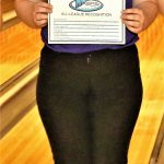 Amy Lawson was named to the NWOAL Bowling First Team after the league tournament held on Saturday.  She also bowled a three-game 224/178/191=593 series to finish second place over all, finishing just 16 pins behind the winner.  Kylie Ulch and Hannah Patch were named to the Second Team and Ivy Seres was named Honorable Mention.  Riley Blankenship was named to the Boys Honorable Mention team.