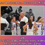 Sectional Finals- 8pm @ BG High School