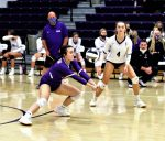 "Senior Sammi Taylor adds another ""dig"" to her incredible career total in leading the 2020 NWOAL Champion Swanton Lady Bulldogs to a 3-1 victory over league rival Delta Lady Panthers in the first round of the Sectional Tournament."