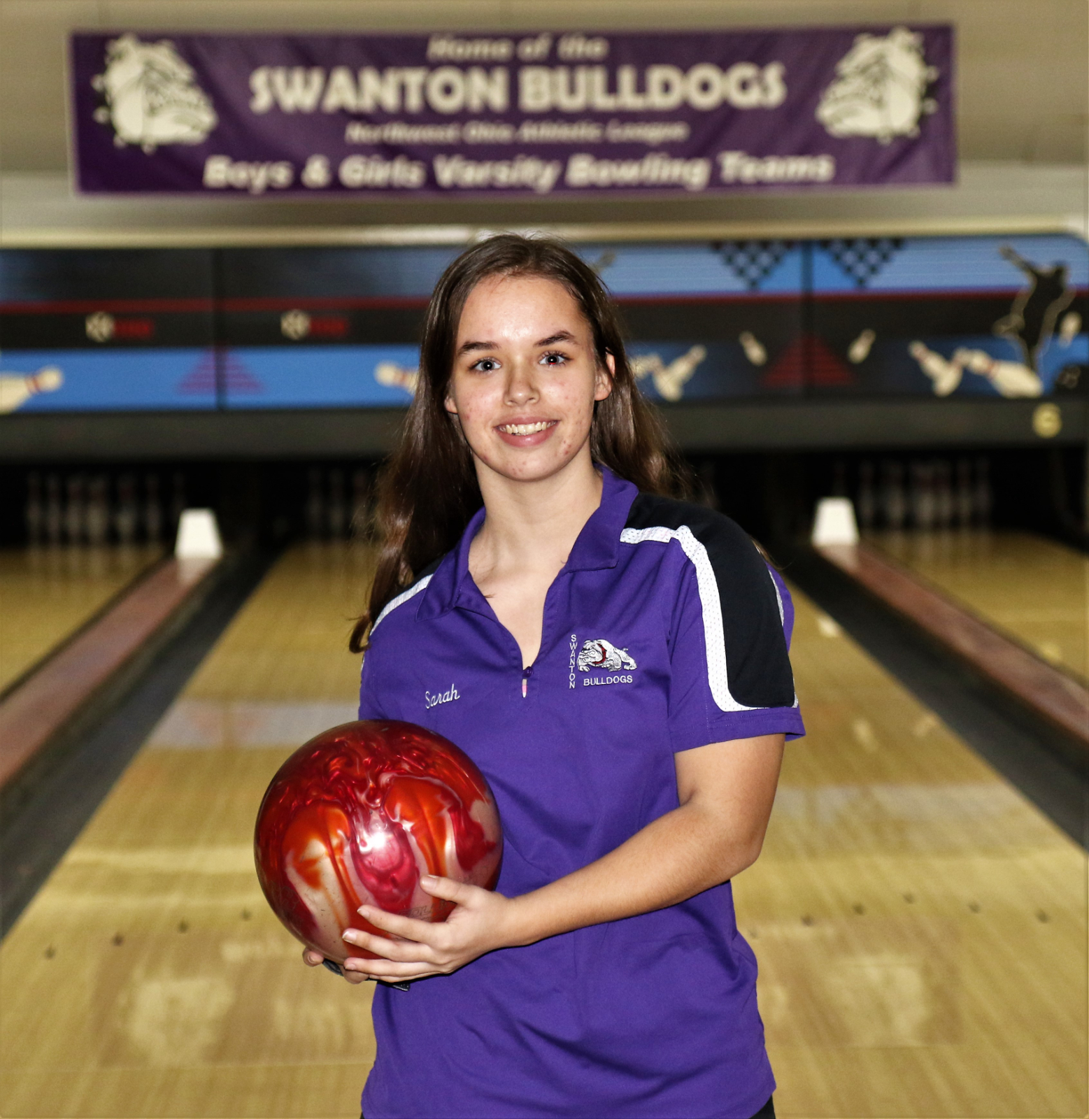Sarah Kohlhofer rolled games of 157 and 194 for a match leading 351 series as the Swanton Lady Bulldogs topped the Evergreen Lady Vikings 2073-1901. Amy Lawson added a 163+160=323 series and Hannah Patch finished with a 181+130=311 series in the victory.  Attachments area