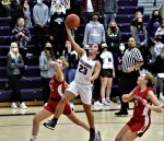 Averie Lutz scored all of Swanton's seven fourth quarter points including a long range bomb with approximately 20 seconds on the clock to break a 37-37 tie and lift the Lady Bulldogs to a thrilling 40-37 win over the Wauseon Lady Indians.  Averie led all scorers with 21 points and her sister Arika added 10 before suffering an injury early in the fourth and had to leave the game. Attachments area