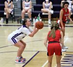 Emma Crow scored the first four points of the game to give Swanton an early lead but the JV Lady Bulldogs fell to the Wauseon Indians 19-18 in a defensive battle.