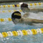 Swim team visits IU Natatorium for County championship action
