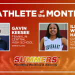 And the Summers Plumbing Heating & Cooling December Athlete of the Month is….