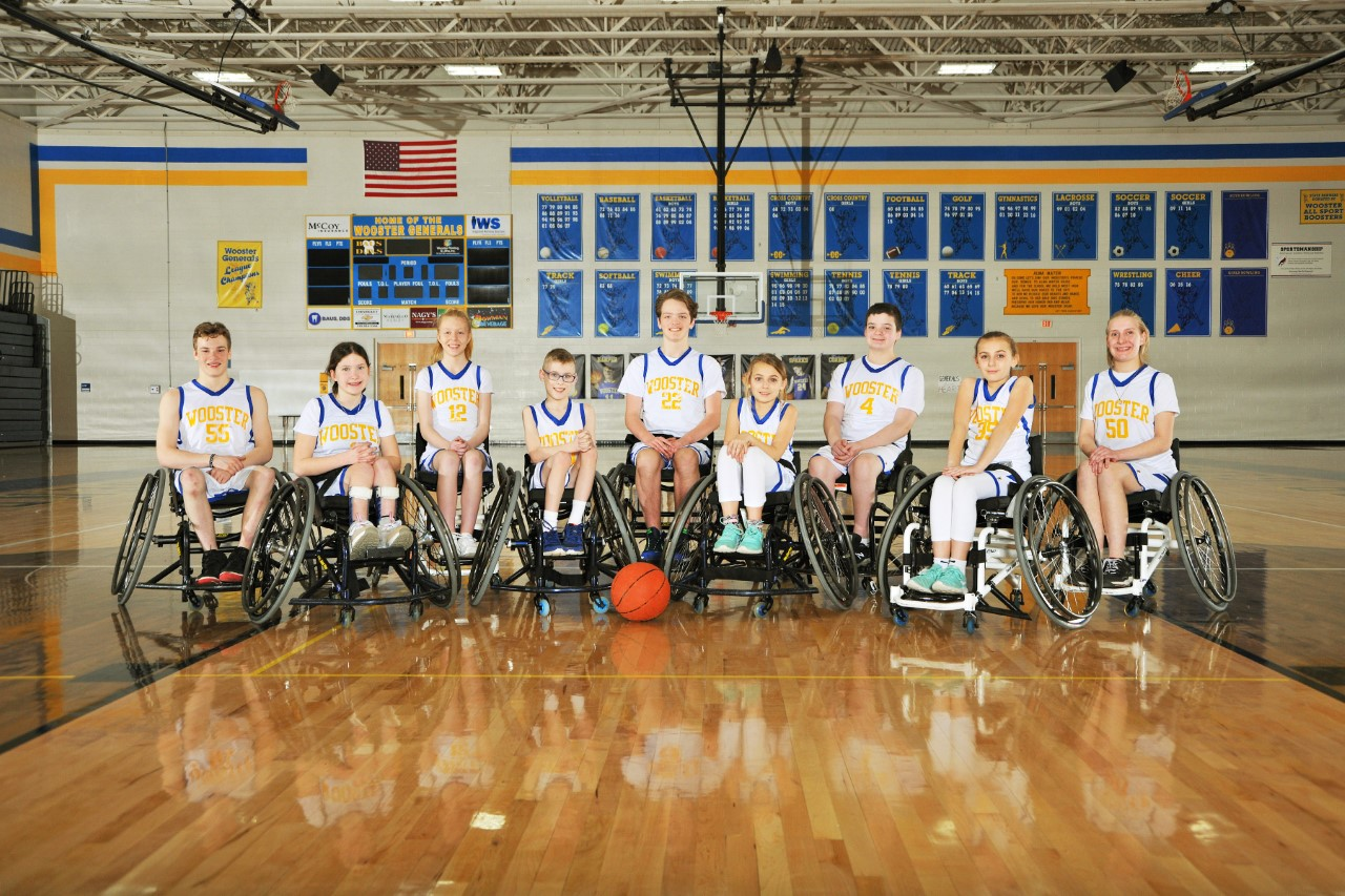 Wheelchair Basketball State Champions