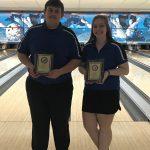 Allie Leiendecker and Garrett Fleming Win OCC Bowler of the Year Awards