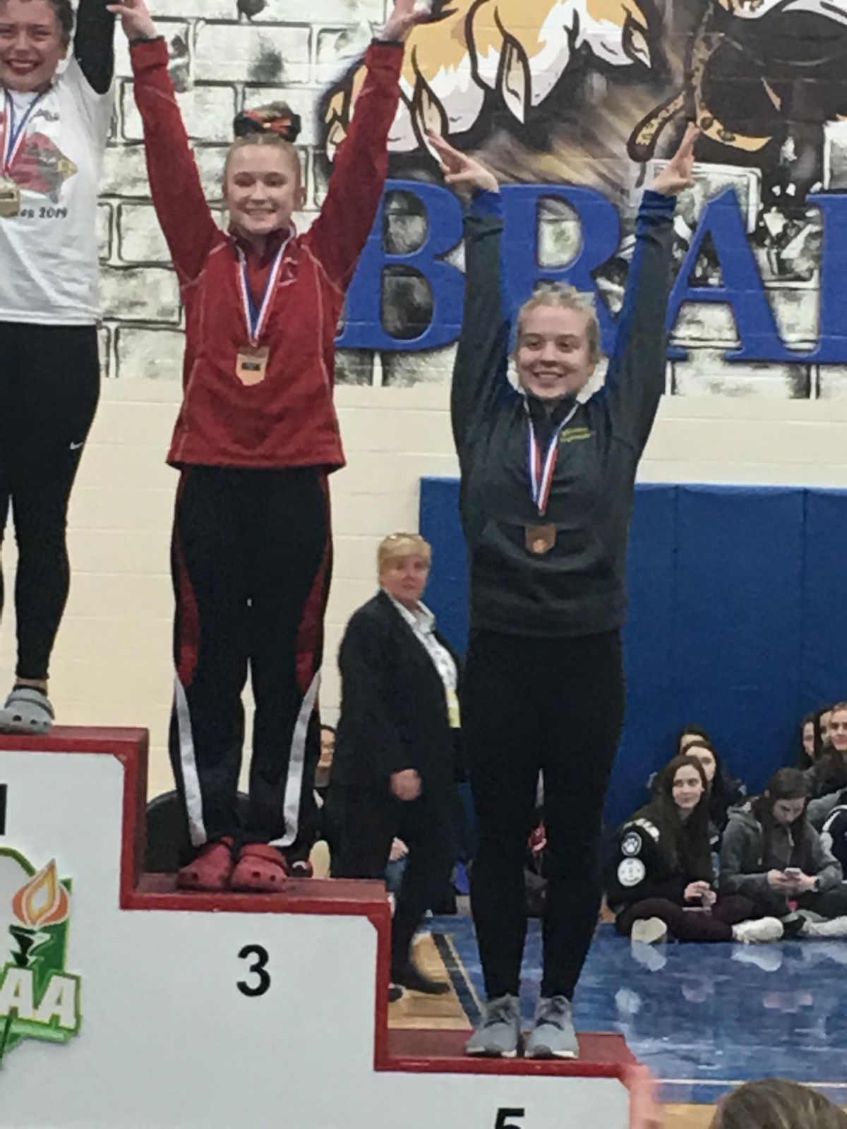 Gymnast, Rachel Furlong Places 5th on Beam and Earns All Ohio Honors