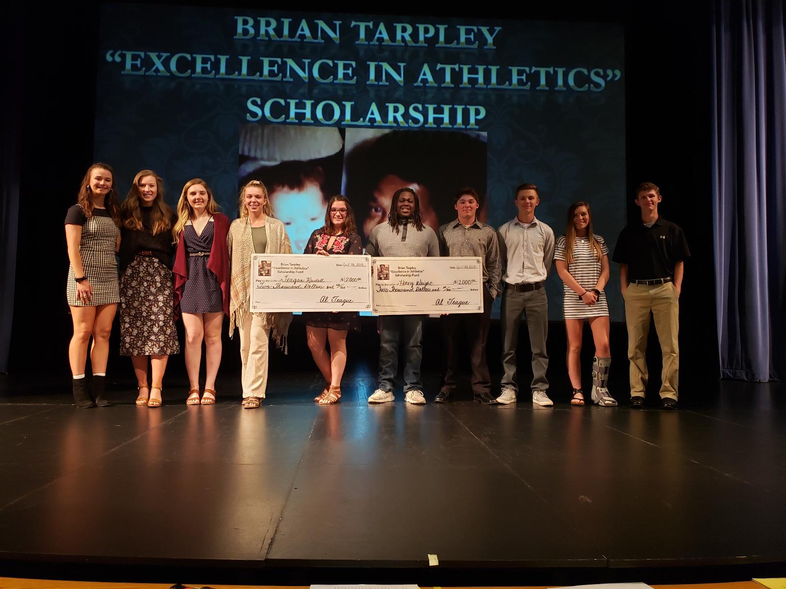 Brian Tarpley Scholarship Ceremony