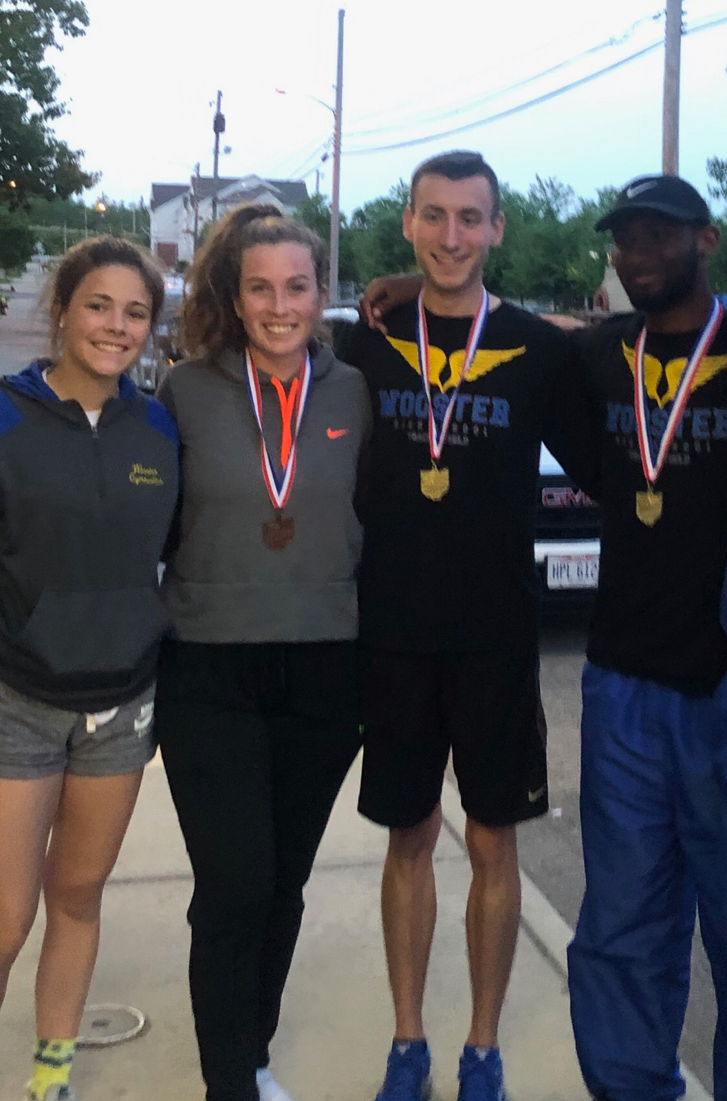 Four Track & Field Athletes Heading To State