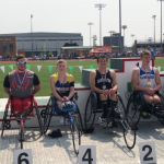 Heller places 4th in the seated 800