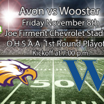 OHSAA Football Playoffs: Wooster at Avon – Game and Ticket Info