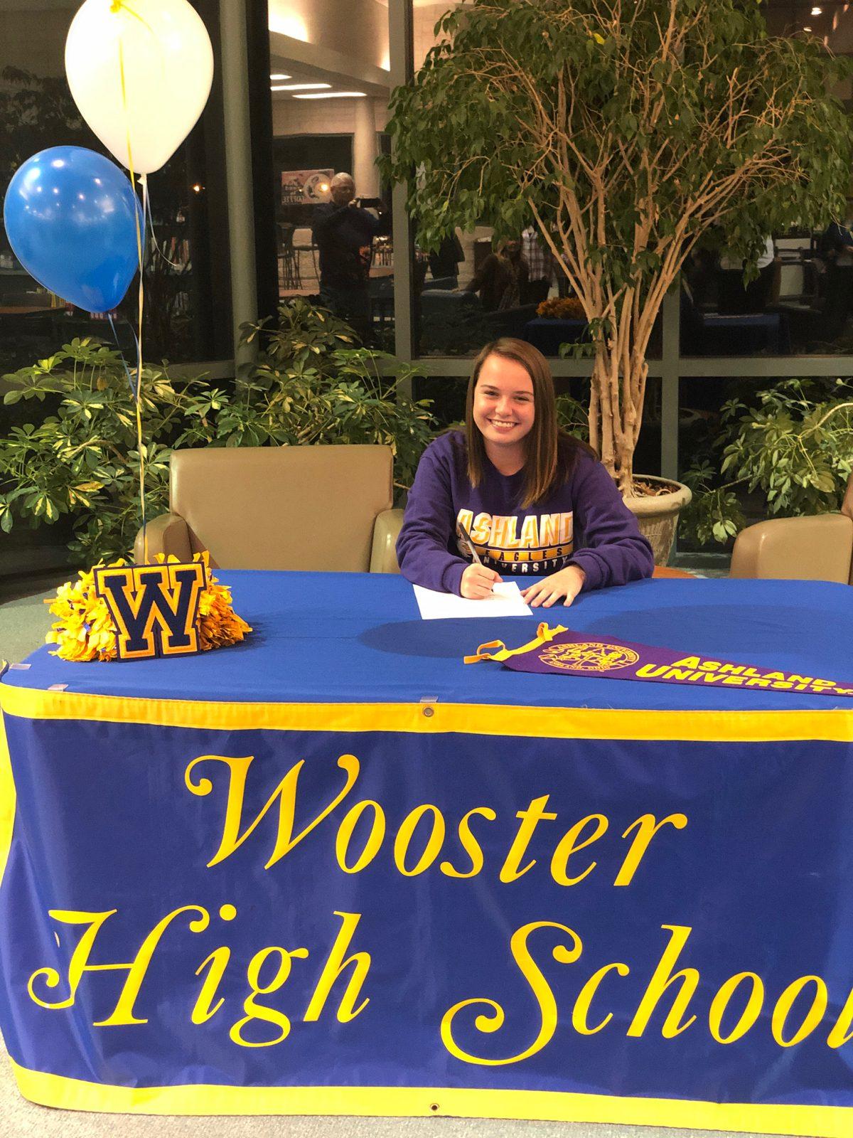 Ashley Siegel Signs With Ashland University