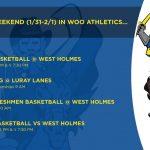 This Weekend in Woo Athletics!