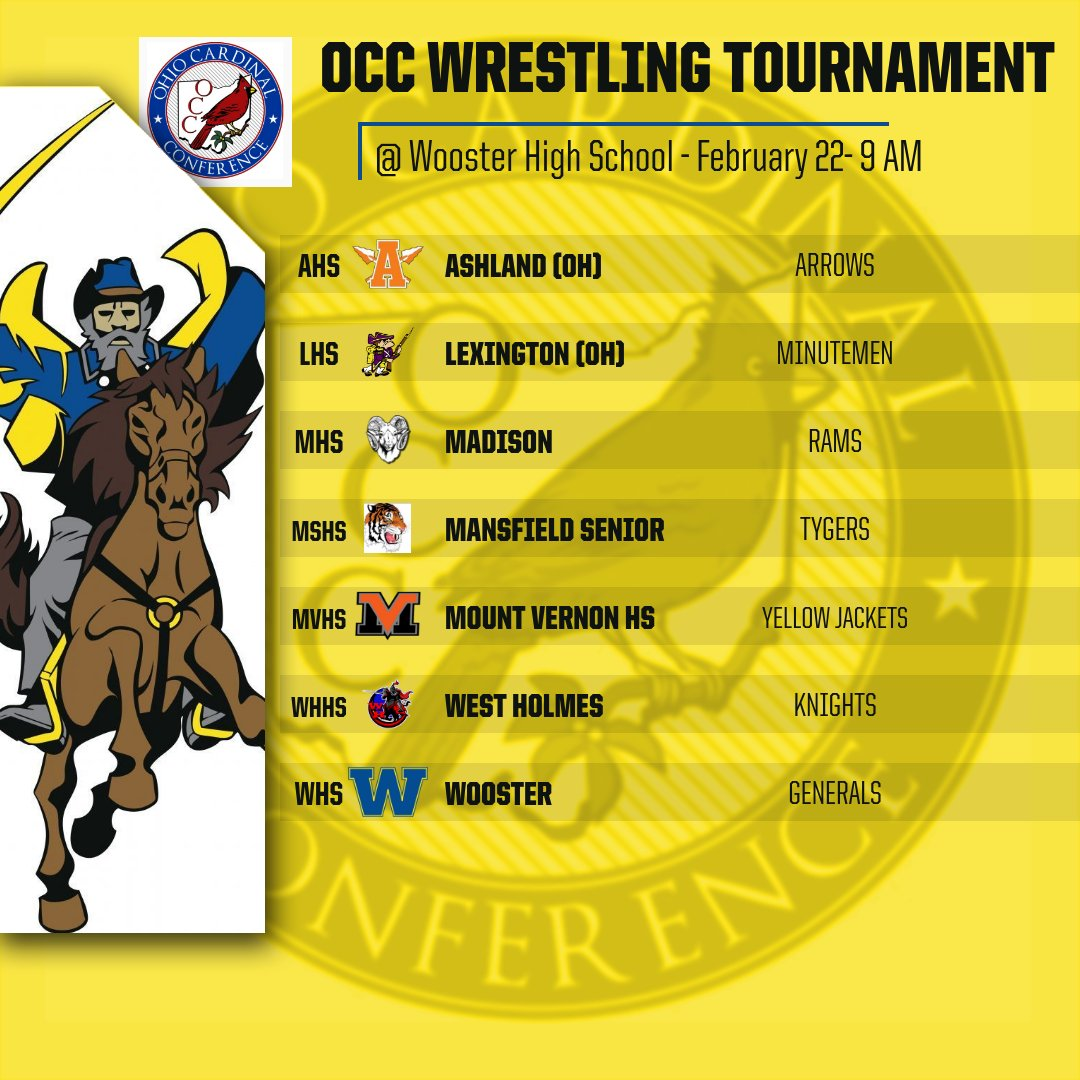 Wooster Hosts 2020 Ohio Cardinal Conference Wrestling Championships