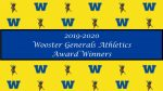 2019-2020 Athletics Award Winners