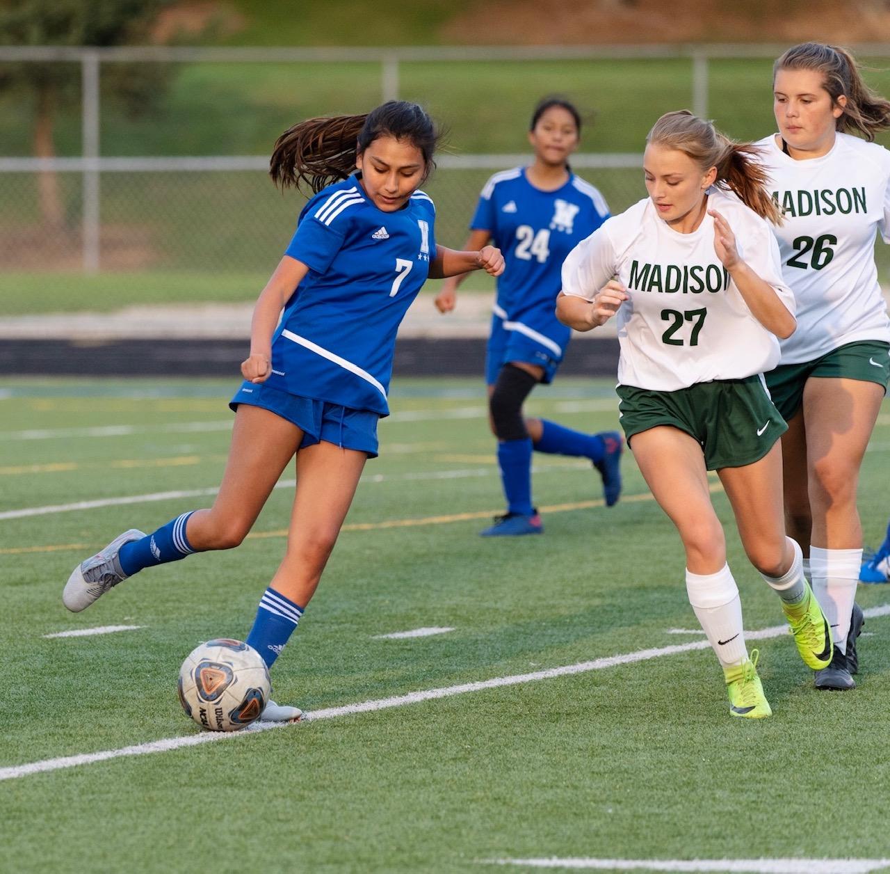 Girls Soccer Vs. Madison Rams September 18, 2020