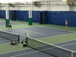 Doubles Pair Boreman and Kakanuru Advance to Districts