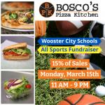 Bosco's Pizza Kitchen Fundraiser