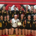 Volleyball District Champs!