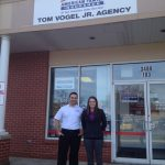 Recognition and Thank You to Our Sponsor; Tom Vogel, Jr Agency